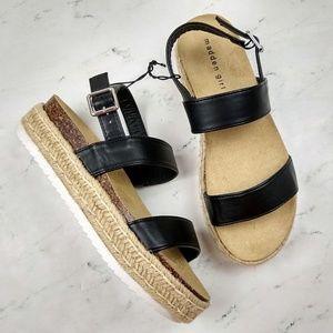 NEW Steve Madden Girl Flatform Espadrille Sandals